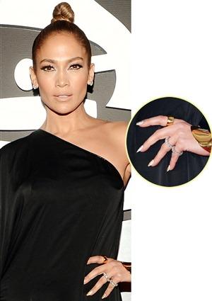 Jennifer Lopez's Favorite Stackable Rings