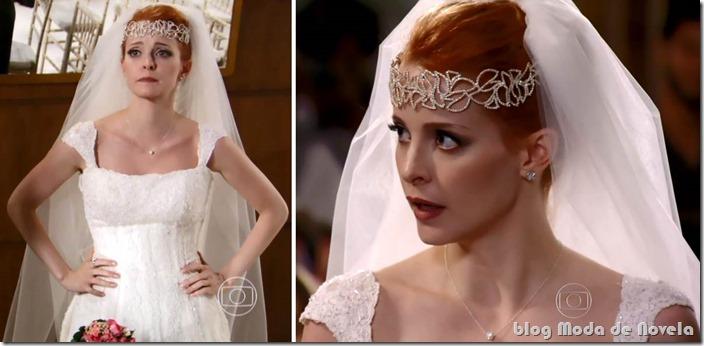 moda da novela sangue bom - vestido de noiva da lara keler capítulo 24 de setembro de 2013 b