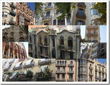 Facades à Barcelone
