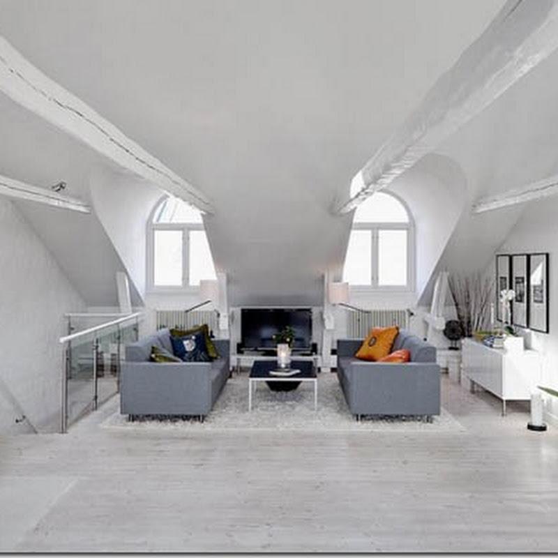 Case e interni uso del colore arancione for Piani di casa del fienile a una sola storia