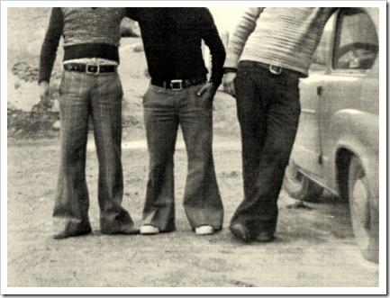 el pantalon campana