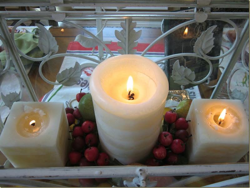 arti candles lit