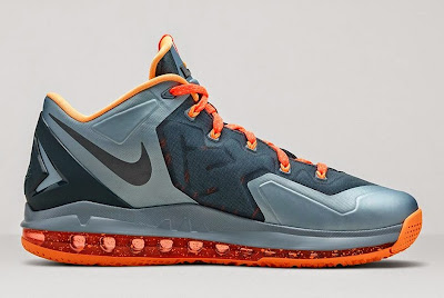 nike lebron 11 low gr grey orange lava 2 03 Nike LeBron 11 Low Magnet Grey Available Now