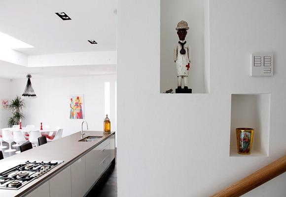 casa moderna con estilo ecléctico