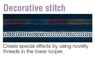 Decorative stitch