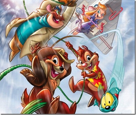 Chip N Dale Rescue Rangers Wallpaper (4)