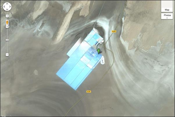 Que construisent les Chinois dans le désert du Gansu -5