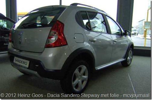Folie Dacia Sandero Stepway 01