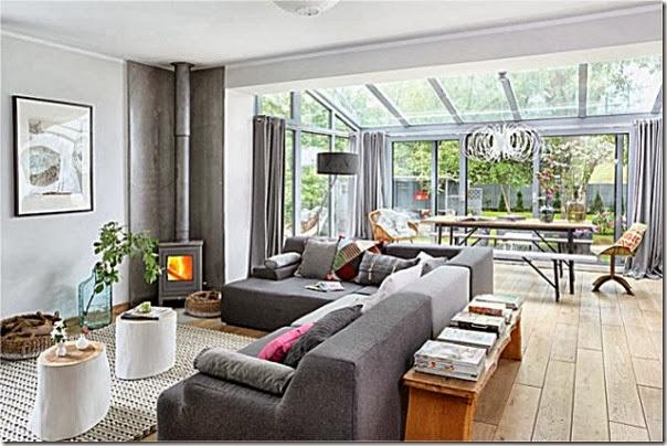 Stile nordico in polonia case e interni - Casa stile nordico ...