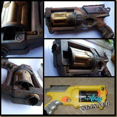 andy skinner Nerf gun 2