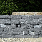 5 - Dry stone wall of squared rubble stones