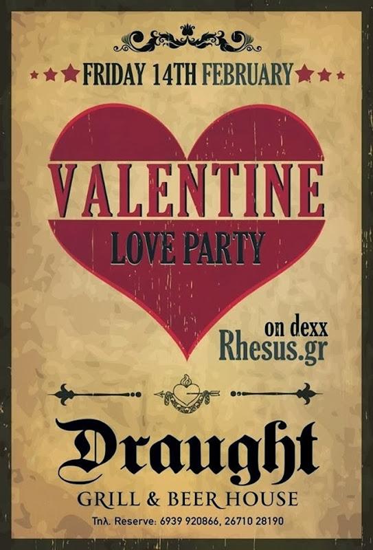 Valentine's Love Party  (14.2.2014)