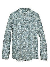 H&M Conscious 2012 Collection Men shirt leaf print organic cotton jacket trousers short accessories eco green substainability