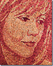 Wine Cork Portraits
