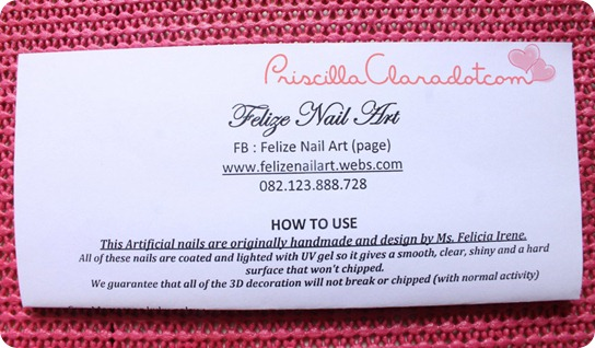 Priscilla review Felize nail art 13
