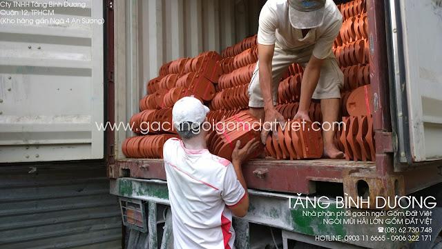 Ngói mũi hài lớn Gốm Đất Việt