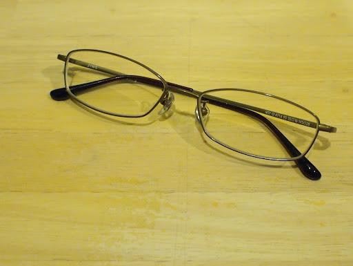 [写真]新しいメガネ