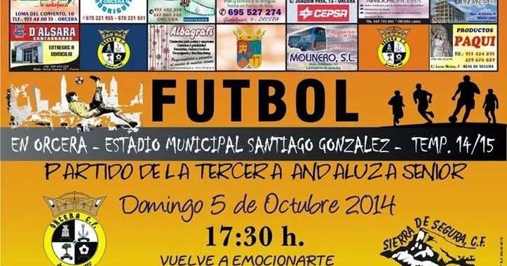Jornada 4 de 3 andaluza jaen grupo 2 orcera cf vs sierra for Piscina municipal de orcera