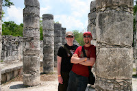 Bros at Chichen Itza