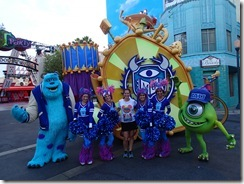 Disneyland 10K Monsters University