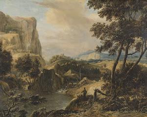 RIJKS: Roelant Roghman: painting 1692