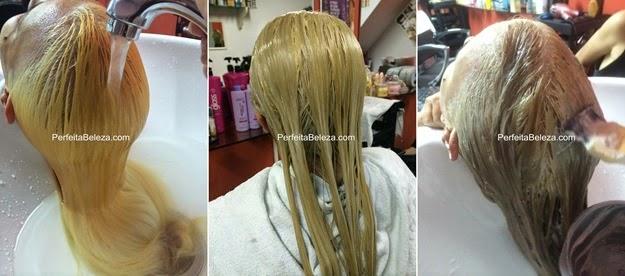 cabelo loiro dourado, passo a passo loiro dourado, pó magnific hair
