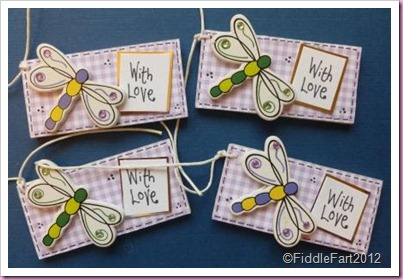 Dragonfly tags
