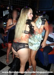 Stripper Michele Galdino com Sra Monika