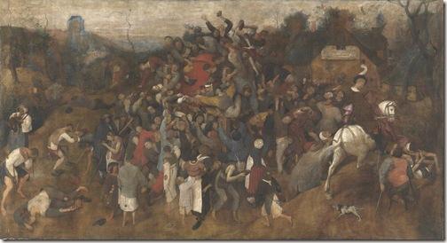 El vino de la fiesta de San Martín - Bruegel el Viejo