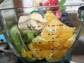 Breakfast In A Glass Protein Smoothie