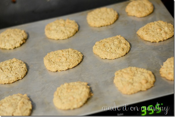 My Favorite Cookie Perfected - Oatmeal, Butterscotch, Coconut
