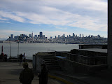 San Francisco view from Alcatraz