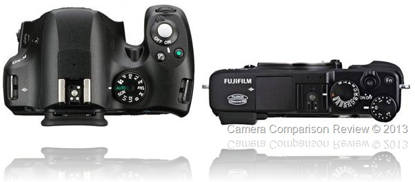 Pentax K-50 vs Fujifilm X-E1