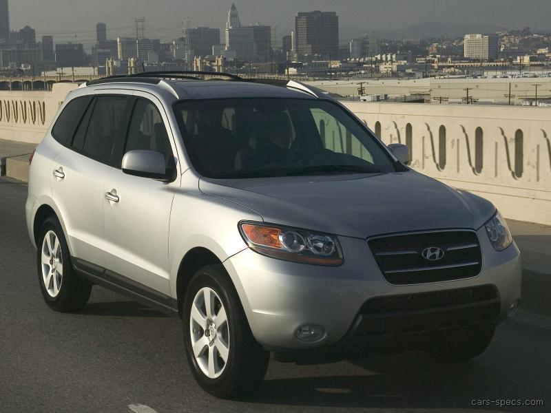 2008 hyundai santa fe suv specifications pictures prices. Black Bedroom Furniture Sets. Home Design Ideas