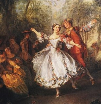 Nicolas Lancret, La Camargo Dancing, 1730, Marie