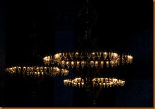 Istanbul, agia sophia lights
