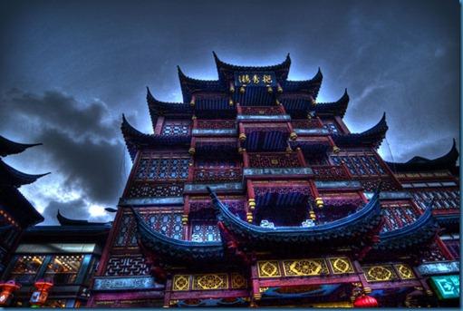 Shanghai Building HDR