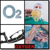 OXYGEN- 4 Pics 1 Word Answers 3 Letters