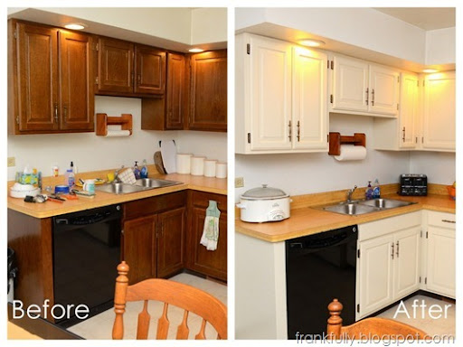Kitchen Cabinet Makeover : diy kitchen cabinets makeover