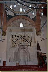 Isa Bey Mosque interior