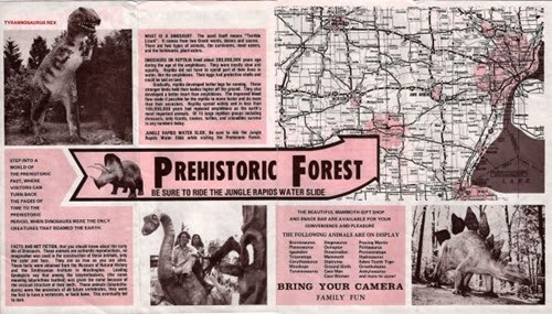 Prehistoric Forest Theme Park Map