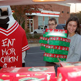 WBFJ - Operation Christmas Child Shoebox Dropoff - Chick-Fila-A - Peacehaven Road - Winston-Salem -