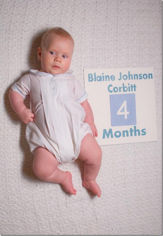 Blaine 4 months