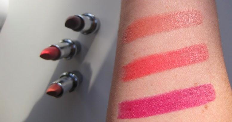 Mavala Style Lipstick swatches