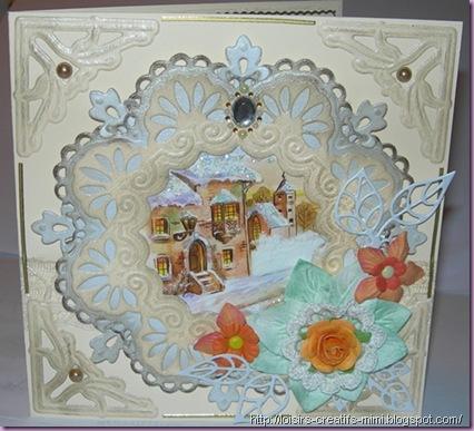 carterie creative, creatables, fleurs,image  marianne design