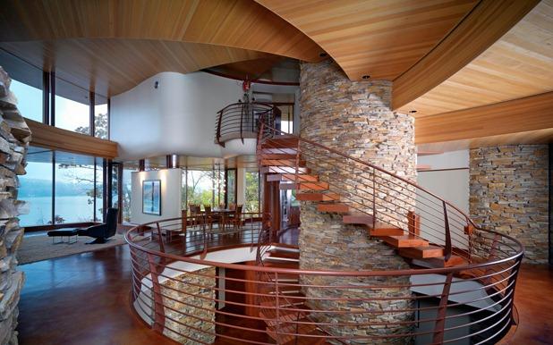 chenequa residence by robert harvey oshatz architect 7