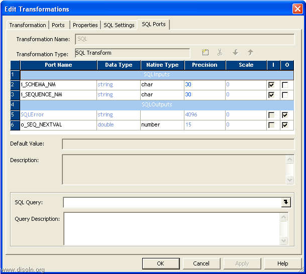 Informatica SQL Transformation, SQL Queries Beyond Pre & Post SQL Commands
