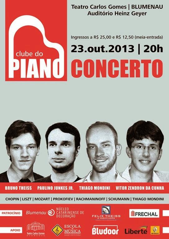 clube do piano