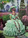 Наряды для Барби, связанные крючком - схемы вязания эту красоту хочется, даже не имея ребенка, связать такое платье...
