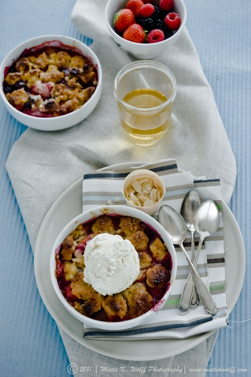Berry Peach Cobbler (0005) by Meeta K. Wolff